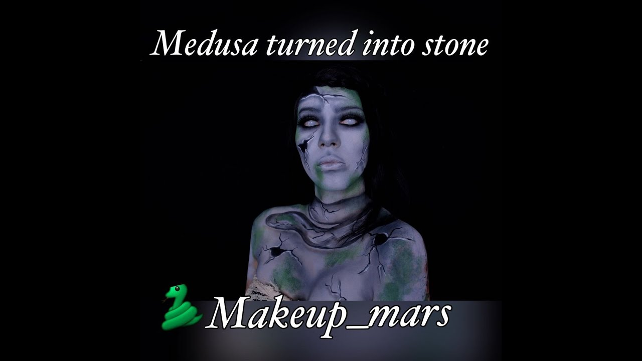 Medusa Makeup tutorial | Halloween | Makeup Mars - YouTube