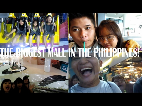 THE BIGGEST MALL IN THE PHILIPPINES | DanVentures VLOG#9