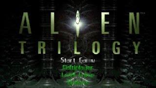 Alien Trilogy gameplay (PC Game, 1996)