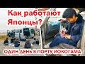 КАК РАБОТАЮТ ЯПОНЦЫ: Один день в порту Иокогамы с сотрудниками компанией Autocom Japan