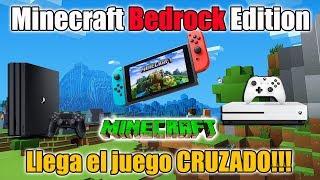 Minecraft EVOLUCIONA - Minecraft Bedrock Edition - Juego CRUZADO