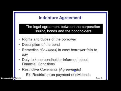 Long term Sources of Financing- Debt