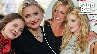 Drew Barrymore posts unedited pic with 'bestie' Cameron Diaz   Page Six Celebrity News