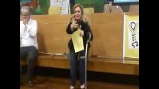 PALESTRA OSTEOGENESIS IMPERFECTA NA CAMARA MUNICIPAL DE SÂO PAULO - REGINA ESPOSITO