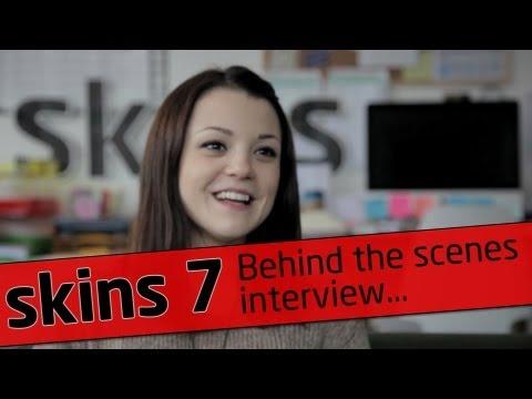 Skins Fire - Behind The Scenes Interview - Kat Prescott