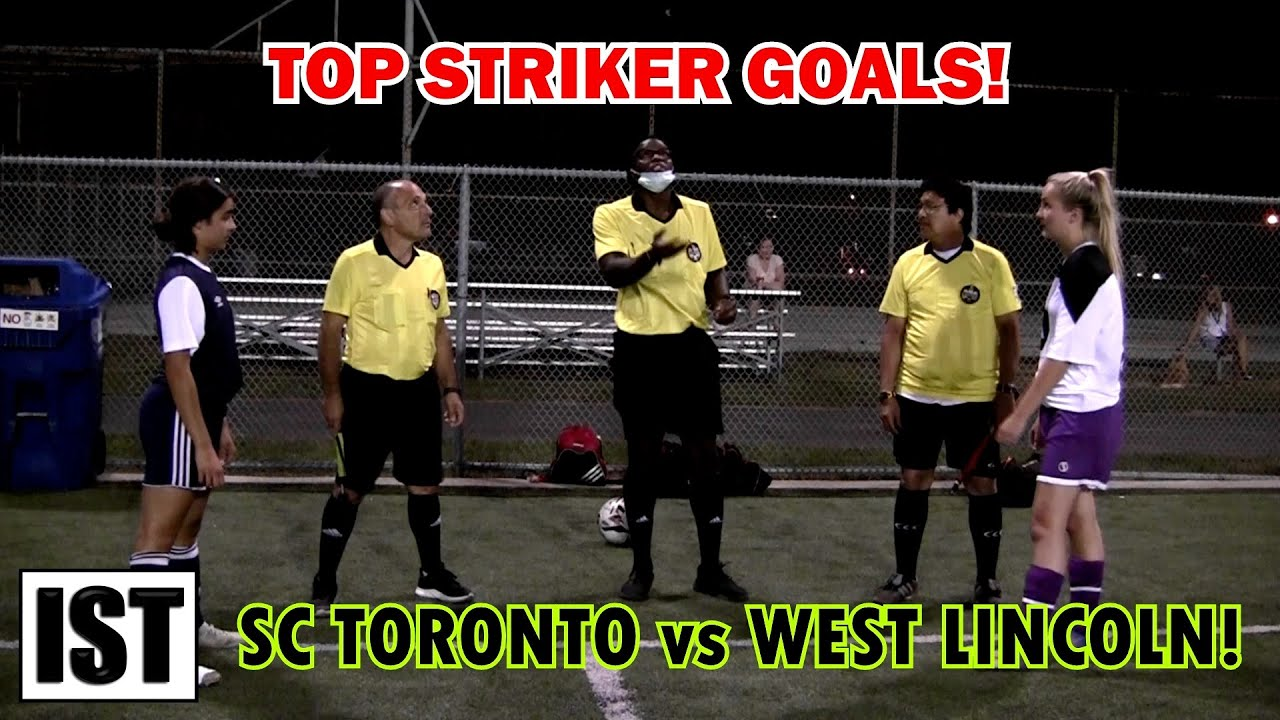 TOP STRIKER Goals! SC Toronto vs West Lincoln!