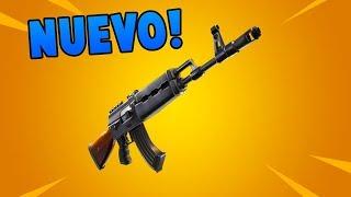 *NUEVO* RIFLE de ASALTO PESADO o HEAVY AR en FORTNITE!! Battle Royale 🔥