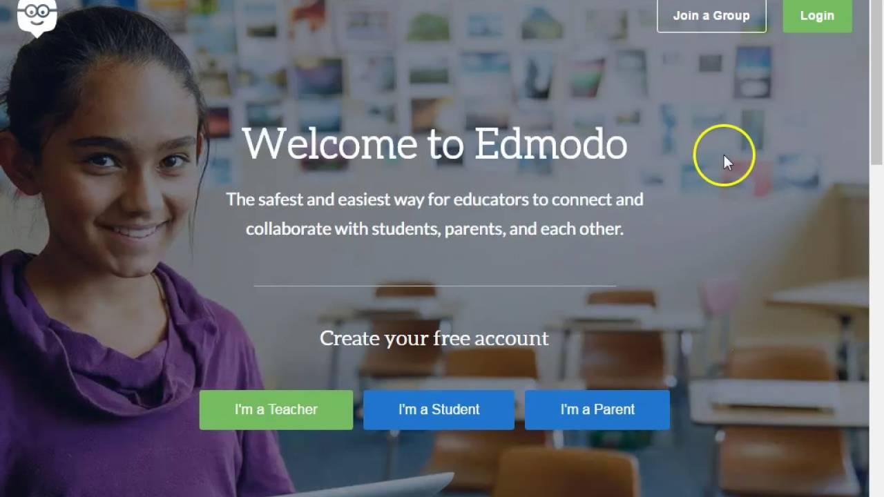 how to delete account on edmodo
