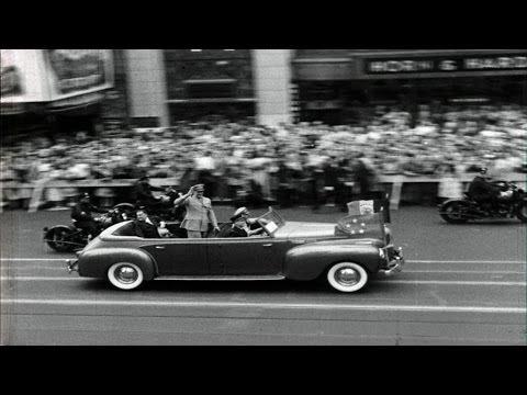 HD Historic Archival Stock Footage Eisenhower Hailed in Washington