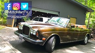 1985 Bentley Continental Convertible Retro Drive Review • Classic Cars & Monterey Car Week 2017 Ep 4