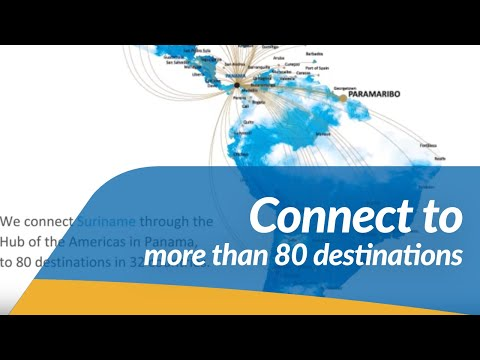 Copa Airlines - Connect From Suriname To The Americas