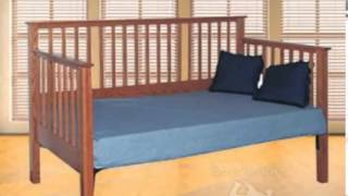 Daybed With Trundle | Wooden Daybed