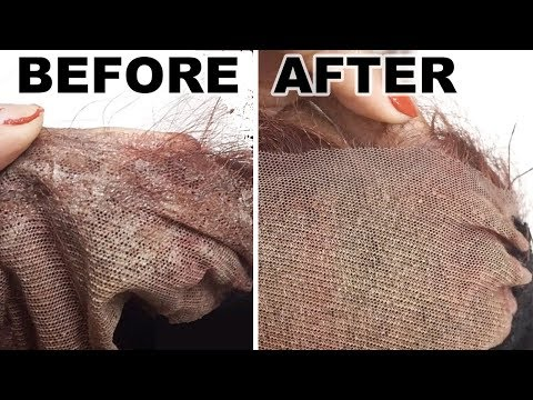 Remove and Wash Glue Off Lace Front *EASY AND CHEAP*