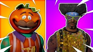 5 MORE SKINS You NEVER See In FORTNITE Battle Royale