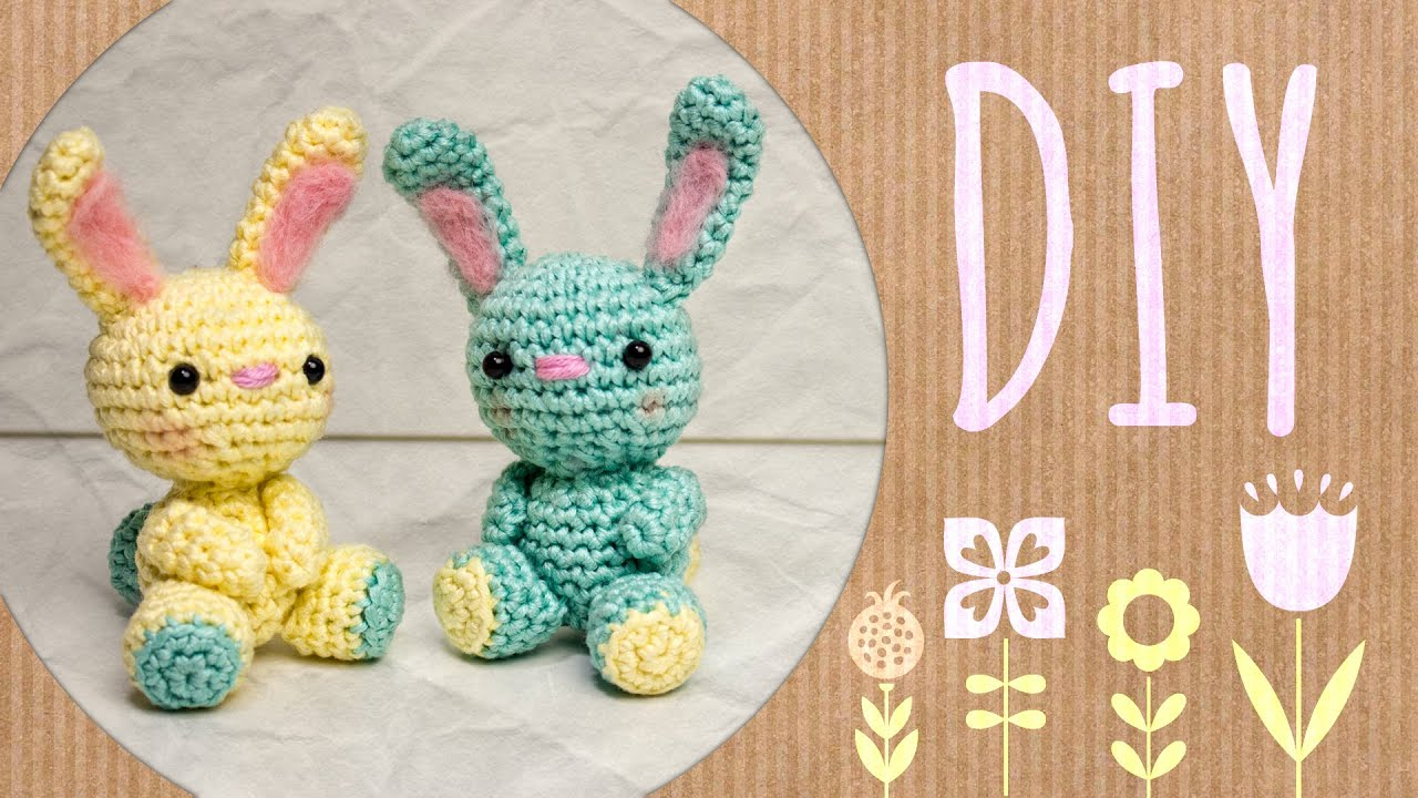 Hase Häkelanleitung Do It Yourself Amigurumi Youtube