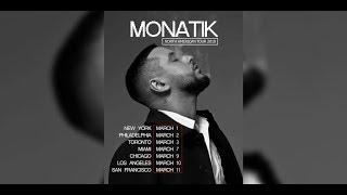 MONATIK USA TOUR 2018