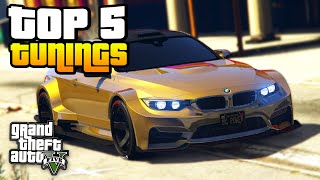 DIE 5 BESTEN TUNING AUTOS in GTA 5 | iCrimax