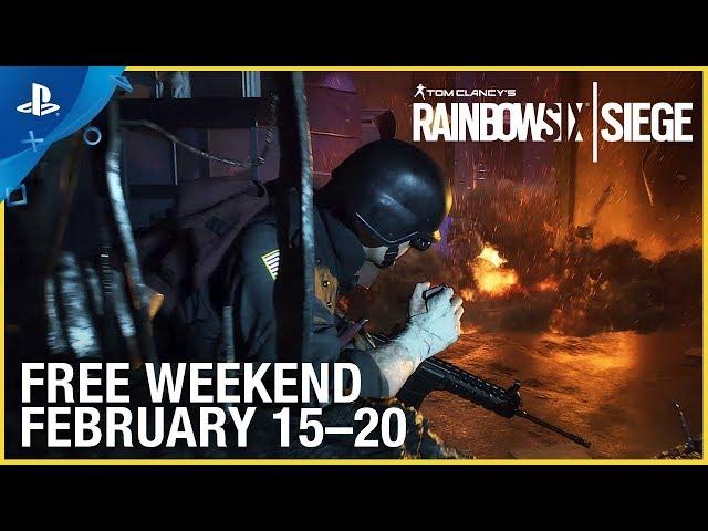 Rainbow Six Siege - Frozen Free Weekend Trailer | PS4