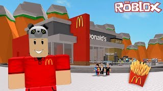 We're Building our dream McDonald's!! - Roblox McDonald's Tycoon with Panda