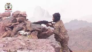 عاءВойна  в Йемене. Сторонники президента Хади ведут бои с хуситами. Март 2018