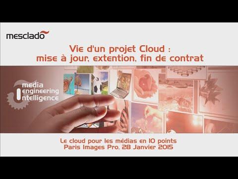Vie d'un projet Cloud : mise à jour, extension, fin de contrat