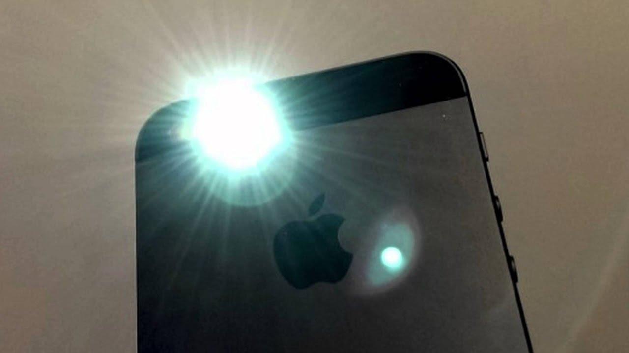 Hướng dẫn cách sử dụng đèn flash để bật đèn pin cho iPhone