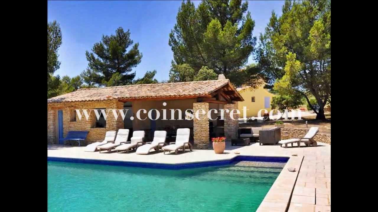 cabrires davignonface la montagne du luberon location dune villa provenale avec piscine - Location Villa Avec Piscine Luberon