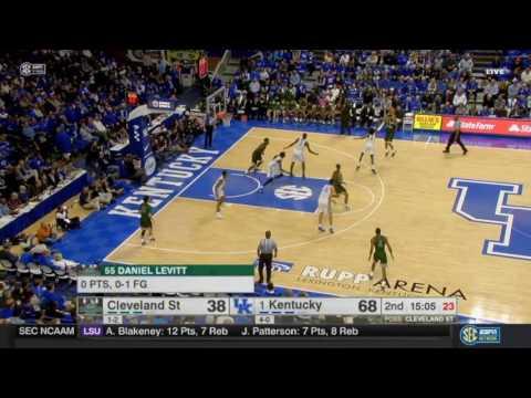 Rob Edwards VS Kentucky Full Highlights 28 points!
