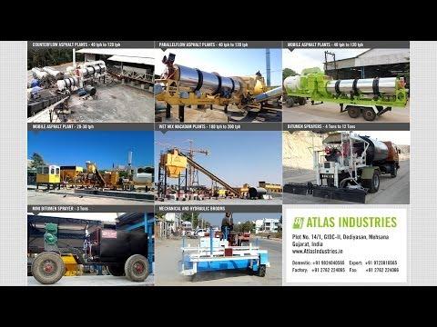 CIVIL & ROAD CONSTRUCTION MACHINERY MANUFACTURER - ATLAS INDUSTRIES