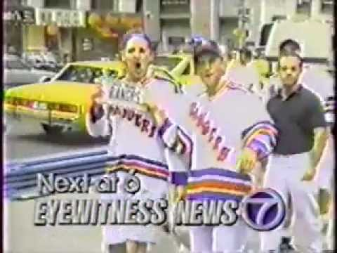 Selesnow, Haber, Ruback at MSG 94 Rangers cup