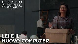 Lei è il nuovo computer | Il Diritto di Contare | 20th Century Fox [HD]