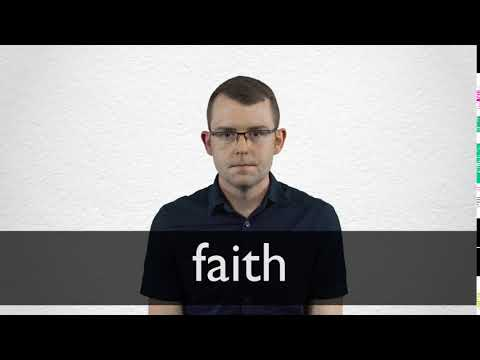 How to pronounce FAITH in British English