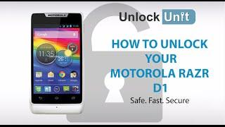 UNLOCK MOTOROLA RAZR D1 - HOW TO UNLOCK MOTOROLA RAZR D1