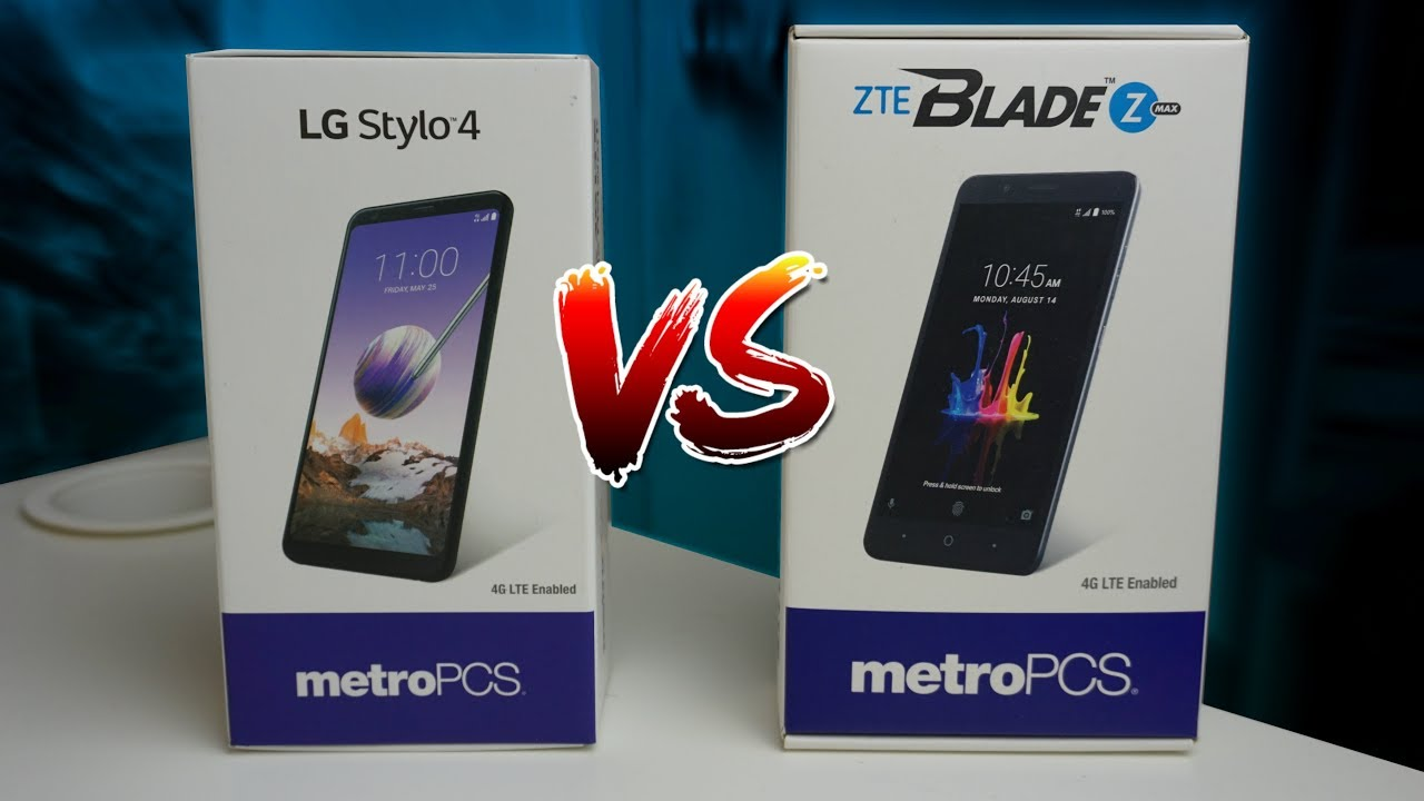 LG Stylo 4 vs ZTE Blade Zmax | Which Is Better?