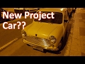 Possible new project car?  Rare 1971 Austin Mini 850 - Vlog 40