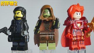 Кастомные фигурки Лего - Пугало, Каратель и Воин