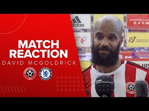 David McGoldrick | Sheffield United 3-0 Chelsea | Premier League reaction interview