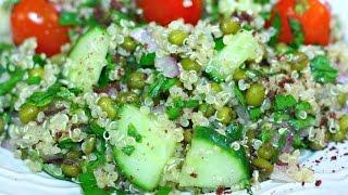 Quinoa Mung Bean Salad