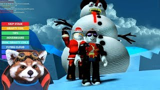 SANTA WANTS SUMMER TO DISAPPEAR | Obby Roblox