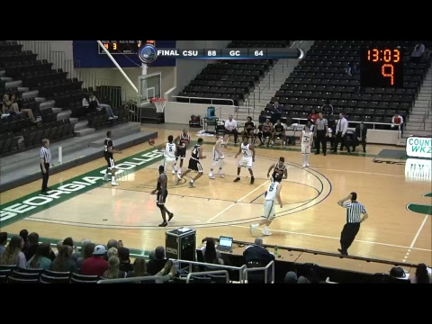 GC MEN'S BASKETBALL: Clayton State at Georgia College