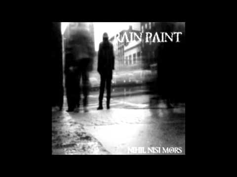 rain paint - disintegration (the cure cover)