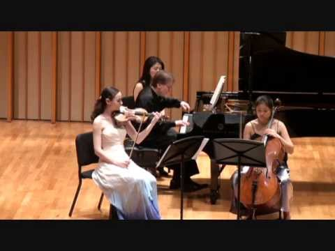 Haydn Piano Trio in C Major HOB XV: 27, II. Andante