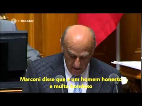 MARCONI PASSA VERGONHA NA EUROPA!!