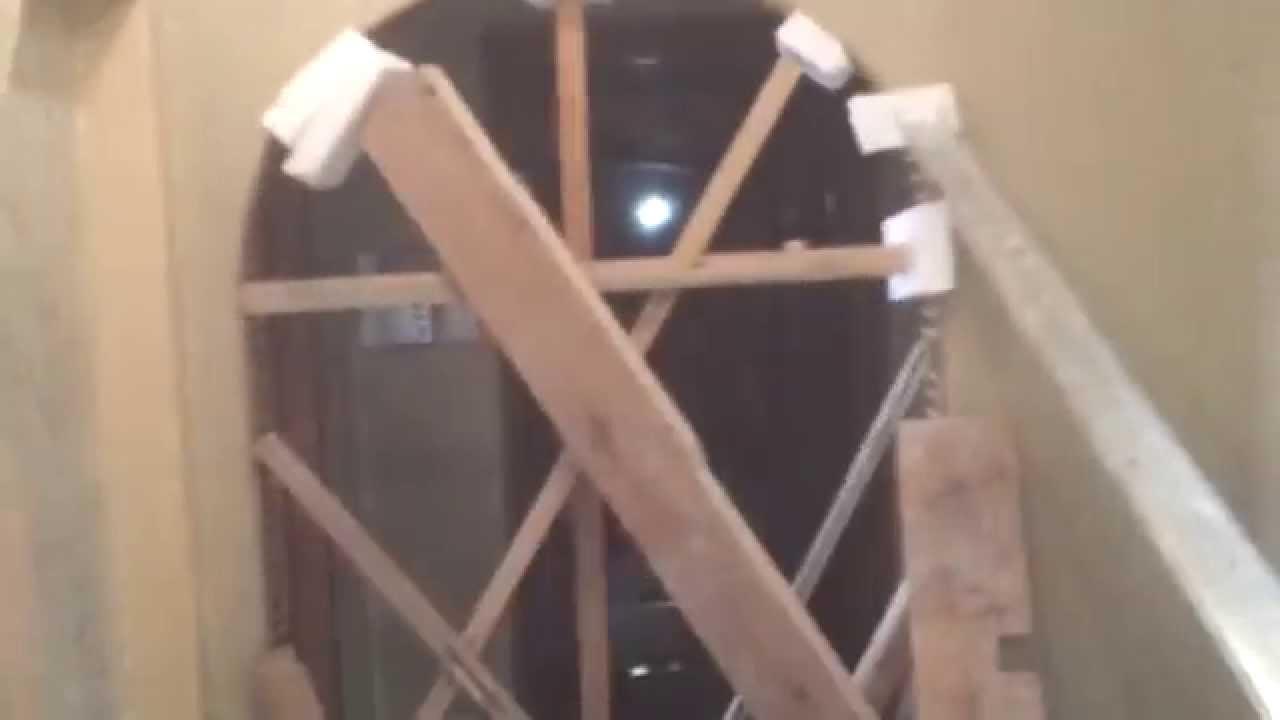 Укладка своими руками гибкий плинтус из полиуретана - YouTube