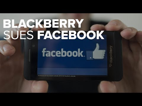 BlackBerry sues Facebook over messaging patents