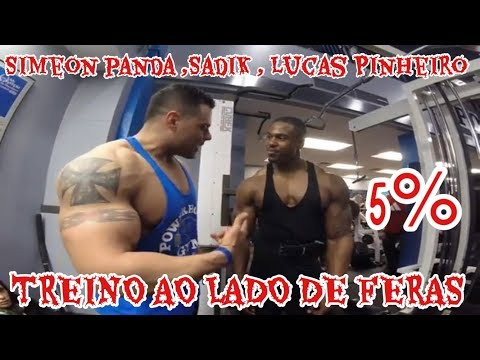 TREINÃO COM FERAS ! FT. SADIK , SIMEON PANDA , LUCAS P , MARTYNFORD