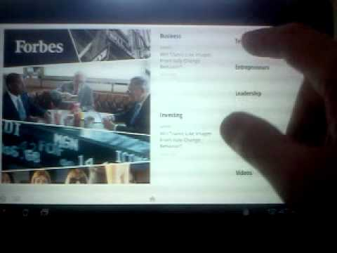 Asus Transformer Prime Tablet Google Currents