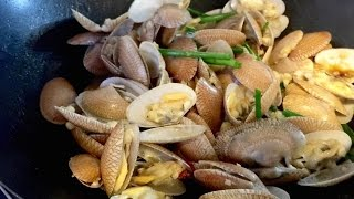 Stir Fry Garlic Clams Recipe (Lala) | 蒜炒啦啦 | Huang Kitchen