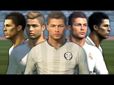 Cristiano Ronaldo from PES 3 to PES 2017