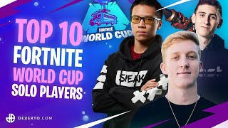 TOP 10 Players Most Likely to Win the FORTNITE World Cup